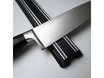 Knivmagnet 300 mm Sort