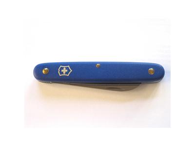 Navaja de bolsillo capas de aluminio Azul
