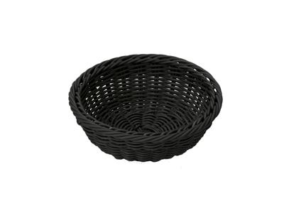 Brødkurv lille 23x9 cm, sort