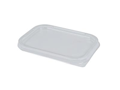 Låg til Alubakke 500 ml klar plast 110-P
