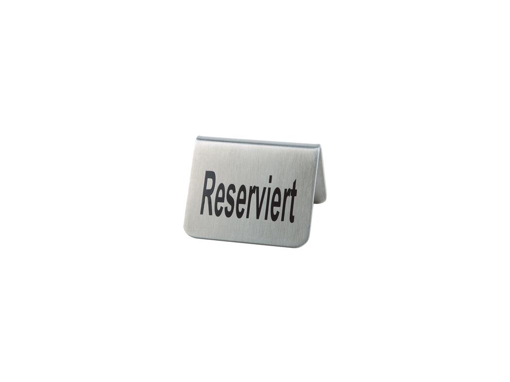 Skilt Reserved RF 2 stk 5x5 cm