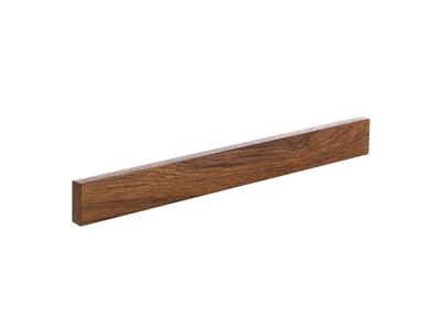 Knivmagnet træ - Teak 395 mm
