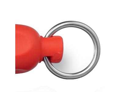 Keramisk Strygestål  Fint 30 cm Rødt skæ