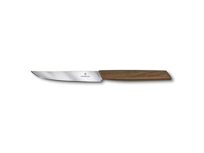 Steakkniv 12 cm 2-P Swiss Modern Valnød