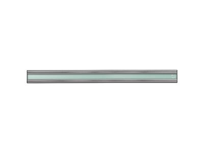 Knivmagnet 300 mm Silver/Grön