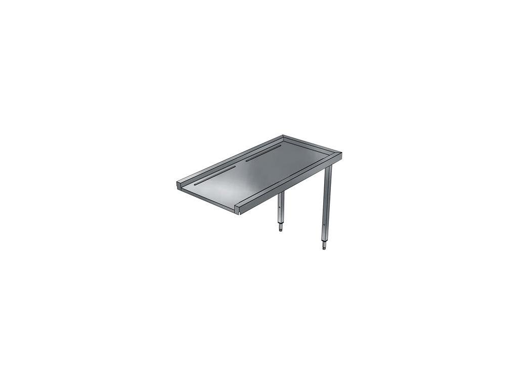 Tørrebord 1200 mm til hætteopvaskemaskin
