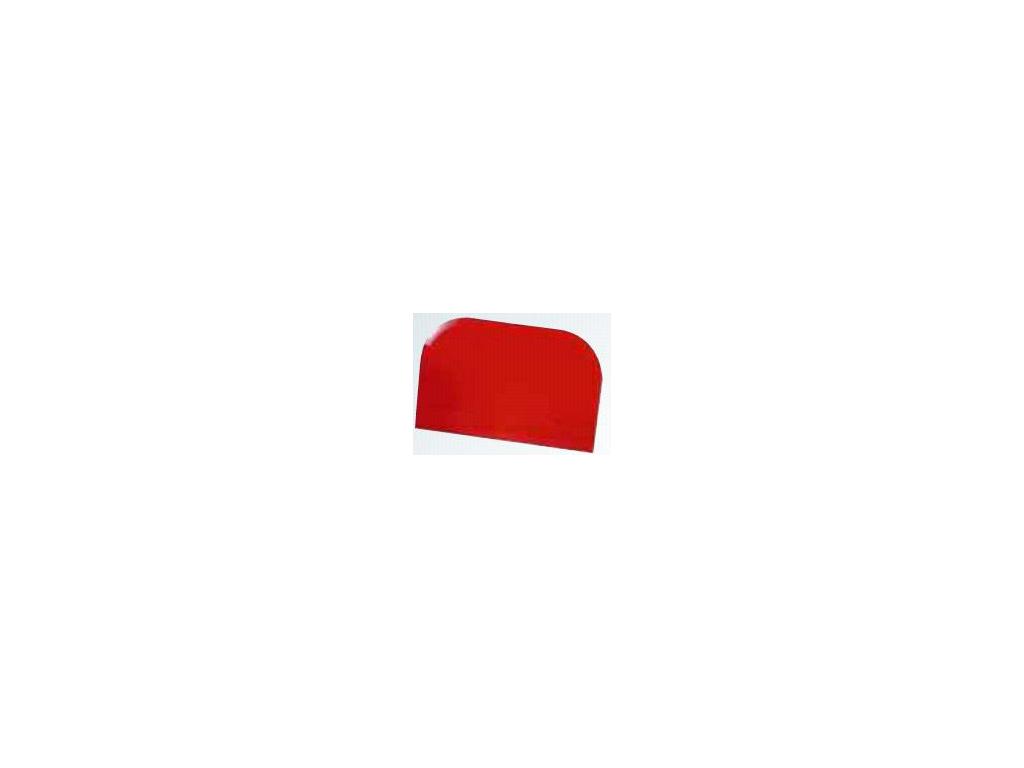 Dejskraber Rød 148 x 99mm firkant 2 rund