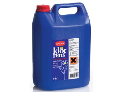 HW Klor Rens 5 ltr.
