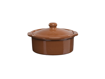 Cocotte m/lock Ø 17 cm terracotta