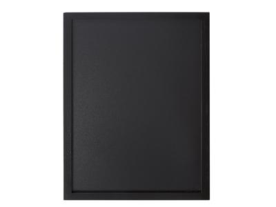 Tavle 40x60 cm sort lakeret træ ramme