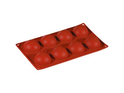 Molde de silicona redonda 8 uds