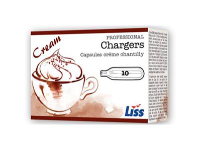 Patroner LISS cream sifon 10 stk.