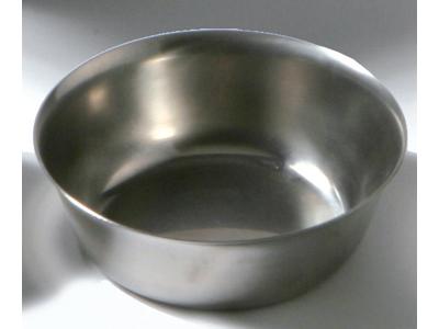 Konisk  rustfri skål 0,7 ltr.