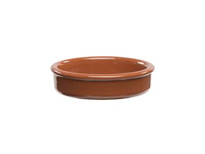 Ovenproof bowl round Ø 10 cm terracotta