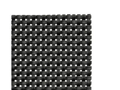 Tallriksunderlägg, bordstablett, svart