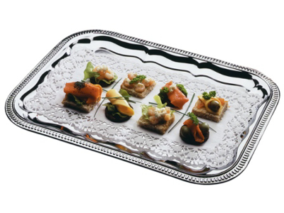 Disposable serving dish