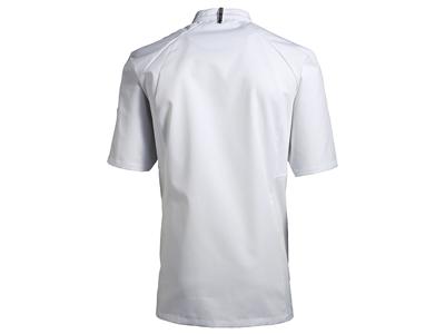 Kokke/Tjenerjakke kort ærm hvid - Flere Varianter