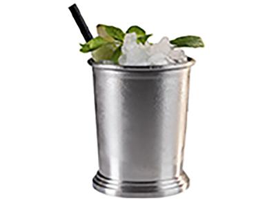 Mugg JULEP MUG, silver/svartfärgad