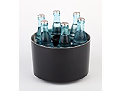 Flaskekøler sort Ø23 cm H:15 cm