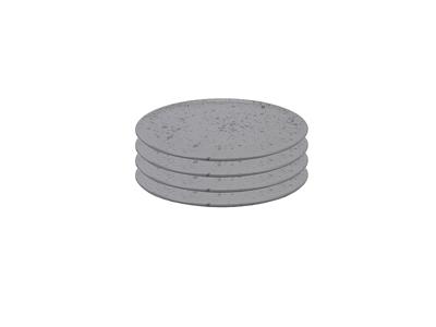 RAW Middags tallerken 4-pak Ø28 grå