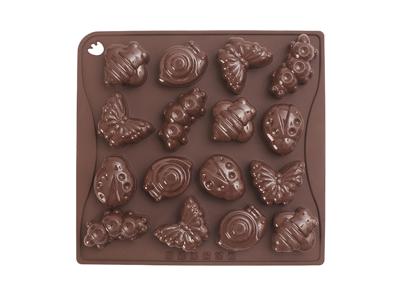 Molde de chocolate verano