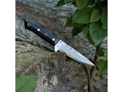 Jagtkniv 9 cm Tojiro Oze Micarta skafte
