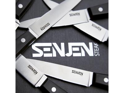 SENJEN Steakkniv-sæt 6 knive Gaveæske