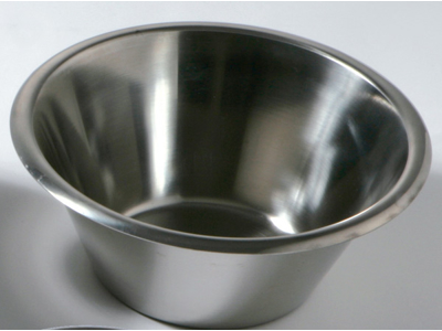 Konisk rustfri skål  5,0 ltr.