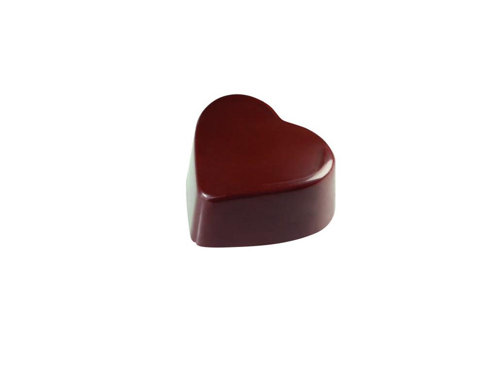 Chokoladeform 24 stk 15 gr 25x28xh.15 mm
