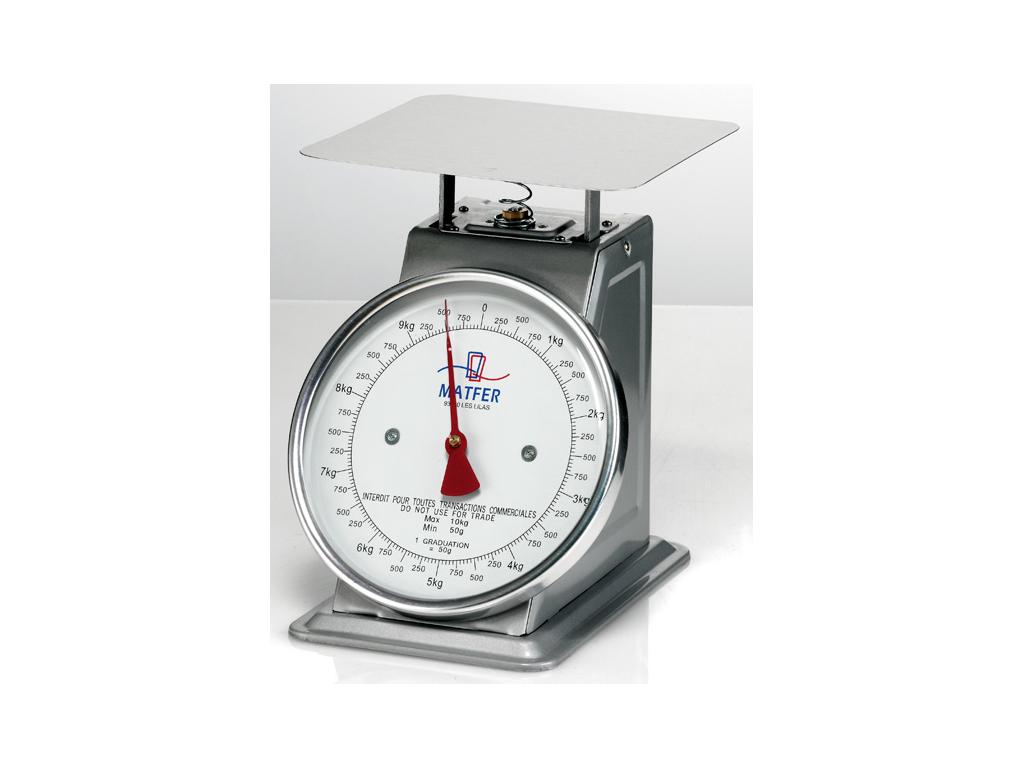 Vægt mekanisk 10 kg, 50 gram Matfer