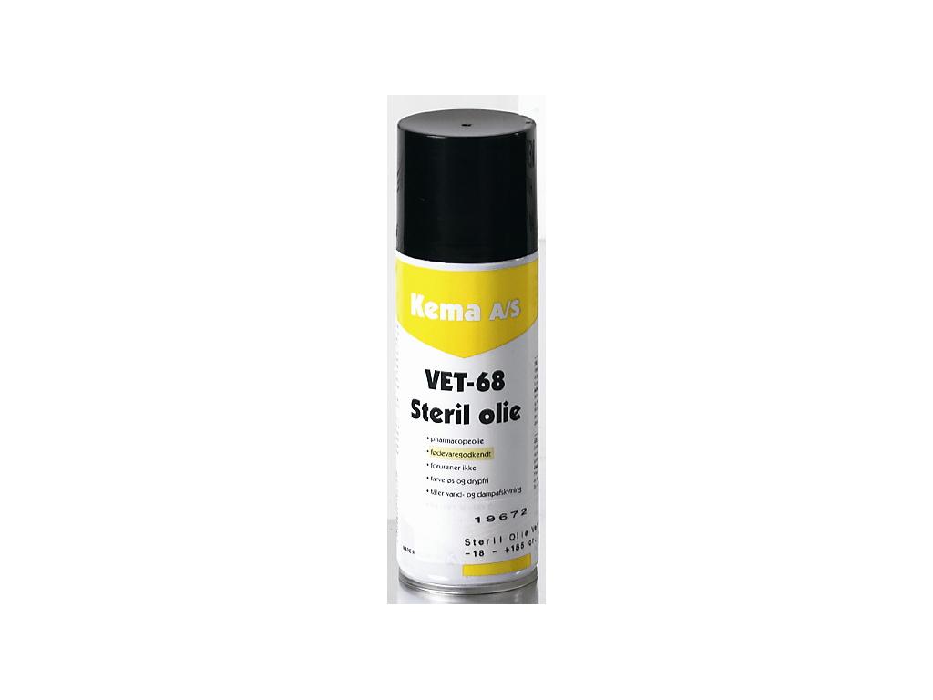 Steril Olie Vet 68 fødevaregodk. 500 ml
