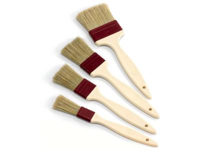 Pensel flad 40 mm m. plasthåndtag