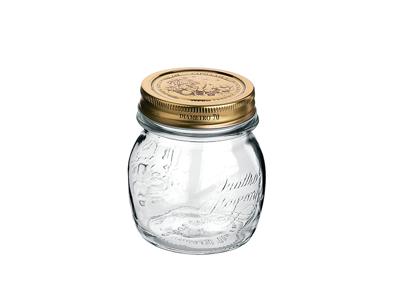 Sylteglas med låg Quatro 0,25 l