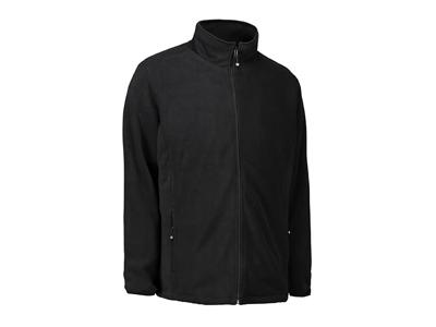 Fleece jakke Sort S