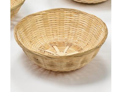 Brødkurv rund bambus Ø 25 cm.
