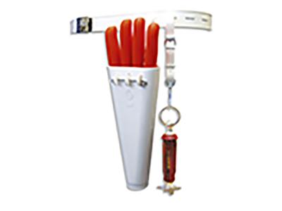 Knivskede t. 4 slagterknive Dick
