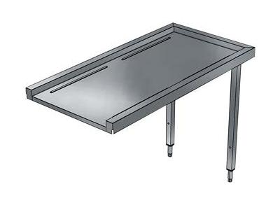 Tørrebord 1800 mm til hætteopvaskemaskin