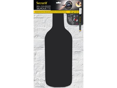 Tavle væg, bottle 50x19 cm + 1 tusch