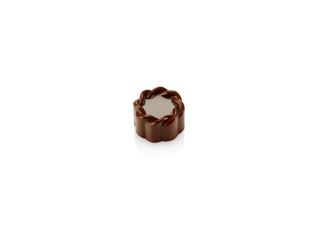 Chokoladeform 21 stk 10 g. Ø 28 x17 mm