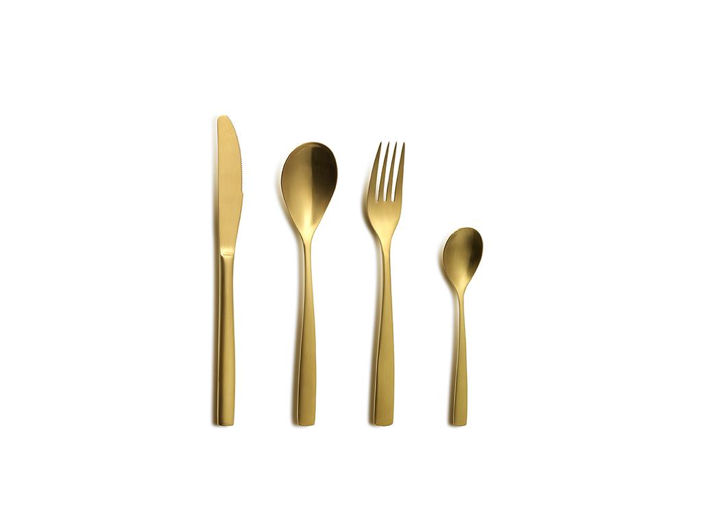 Kniv guld 221 mm
