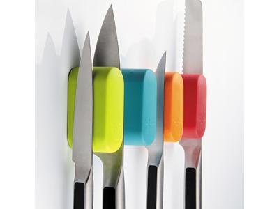 Knivmagnet til 2 knive Sort
