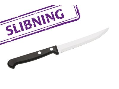 Bordkniv, pålagt Steakskær.