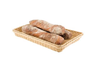 Brödkorg, naturfärgad, av polypropylen, GN 1/1
