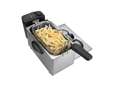 Friture bordmodel. 3,5 liter.husholdning