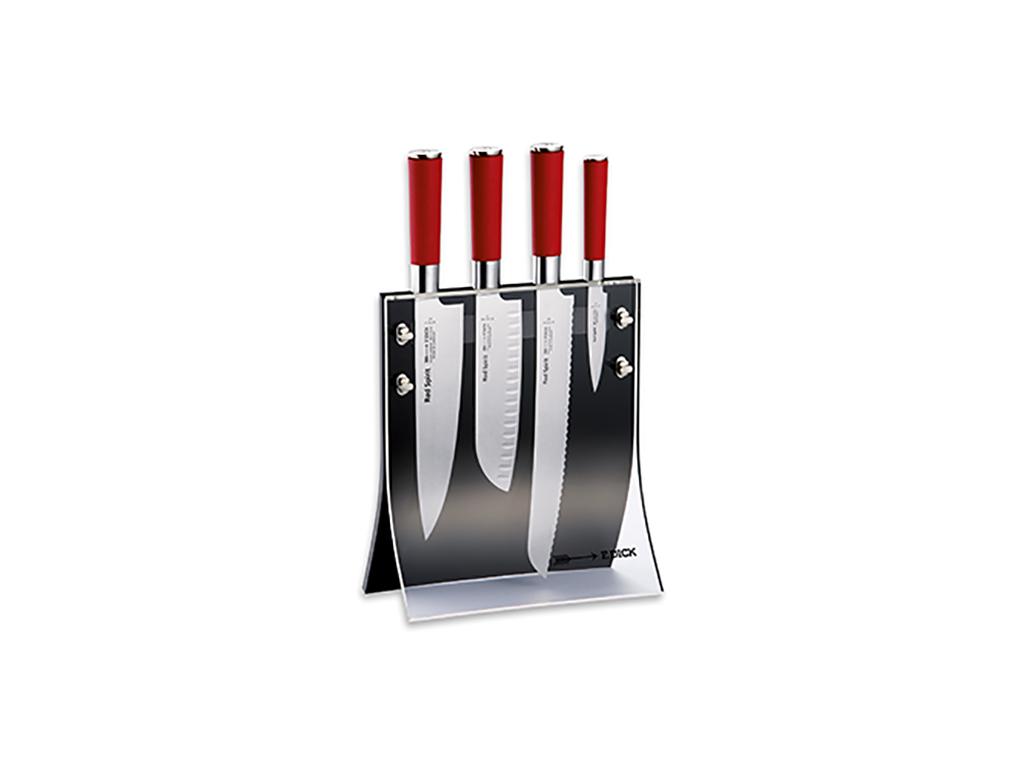 Knivblok Dick Red Spirit  med 4 knive