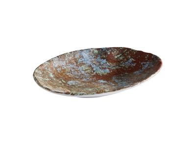 Tallerken melamin 24x17 cm Aquaris
