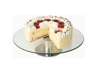 Pastel de plato de servir