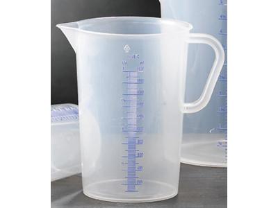 Litermått, 3 liter, plast