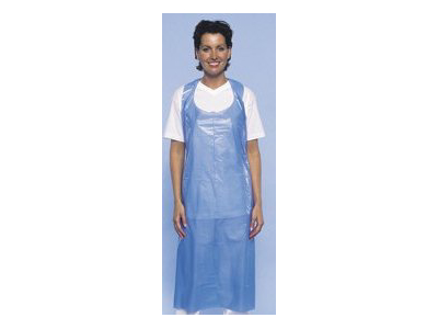 Blue Single use apron