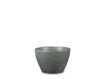 Skyrskål 13 cm stentøj grå Bitz